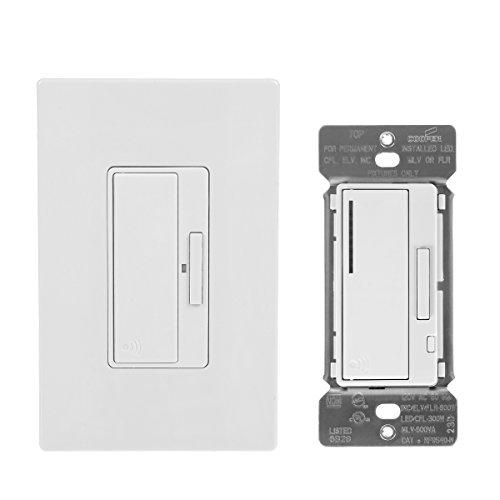 Eaton RFAS40DW Z-Wave Anyplace Kit (RF9575DW Decorator Switch & RF9540-NAW Decorator Dimmer), White