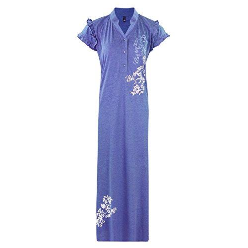 The Orange Tags - Camisón - para mujer azul celeste