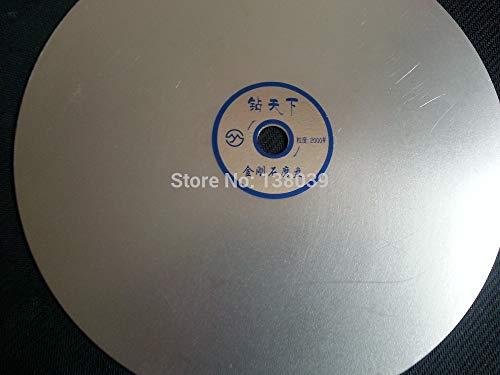 - Maslin 10 inch 250mm Diamond flat polishing Lap disk for jewelry stone, jewel's polishing tools disk - (Grit: 320)
