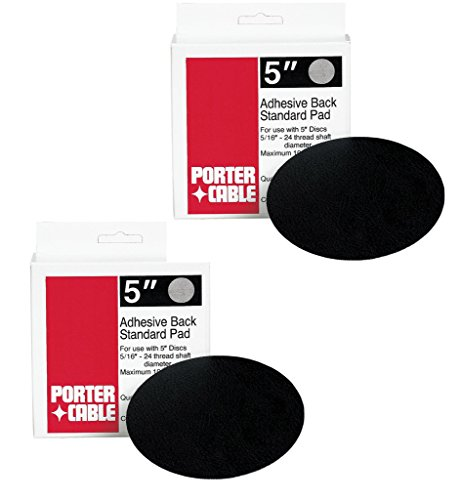 Porter Cable 7334 & 7335 (2 Pack) Replacement 13700 Standard Adhesive-Back (2 Pack) Replacement Pad # A14390-2pk