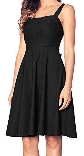 asos 40s tea dress with high neck - 8