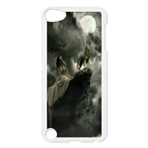 UNI-BEE PHONE CASE FOR Ipod Touch 5 -Wolf Pattern-CASE-STYLE 2