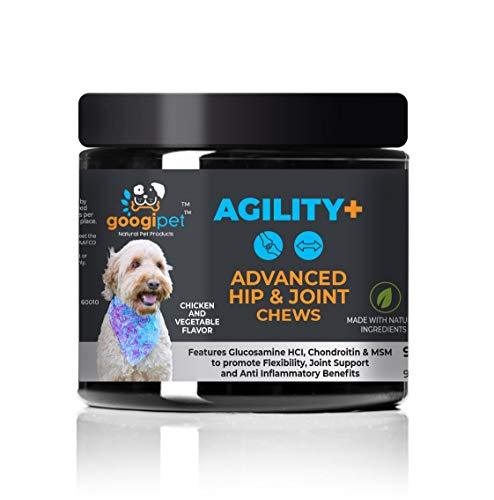 Natural Glucosamine for Dogs – Dog Joint Supplement Support Hip and Joint Health with Chondroitin, MSM, Turmeric, and…