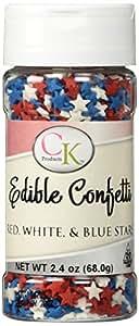 Star Sprinkles - Red, White, & Blue