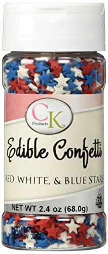 Star Sprinkles - Red, White, & Blue