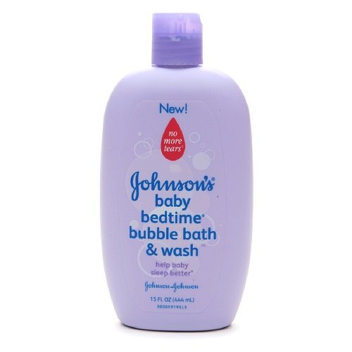 Johnson's Baby Bedtime Bubble Bath & Wash 15 oz (444 ml) by Johnson's Baby