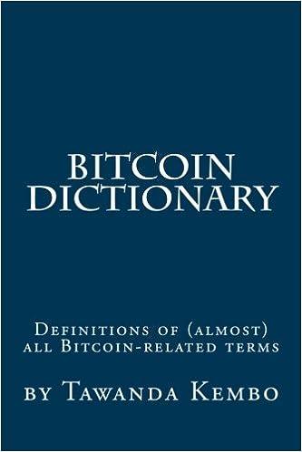 bitcoin dicționar