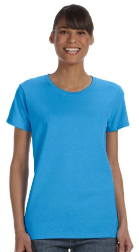 Gildan Heavy Cotton Ladies 5.3 oz. Missy Fit T-Shirt, 3XL, HEATHER -