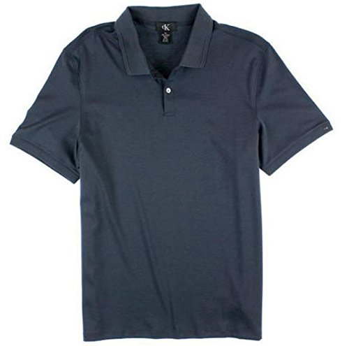 Calvin Klein Men's Lifestyle Soft Liquid Cotton Polo Shirts (Medium, India - Lifestyle India Of