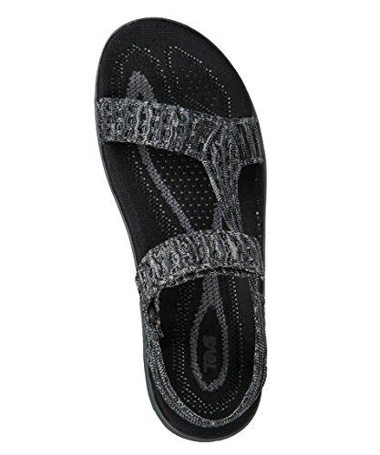 Teva Teta Terra FLOAT2 Knit, Negro, 37
