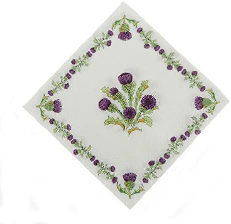 Great for Burns Night Scottish Thistles Napkins 3 ply Paper