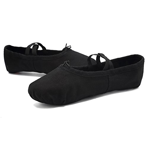 Canvas Ballet Little Flats Shoes CIOR Slippers Big Dance Kid Yoga Black Toddler Women Gymnastics wEq16z1d