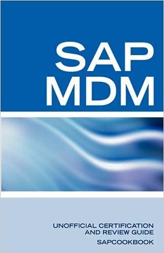 SAP Netweaver MDM: Master Data Management Certification: SAP MDM ...