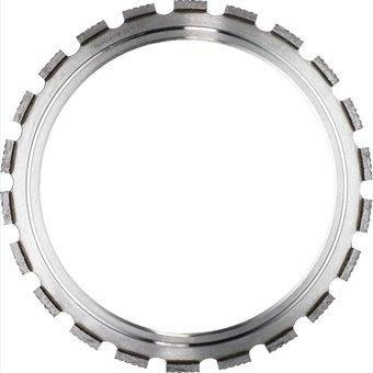 14-Inch Premium Diamond Ring Saw RingSaw Blade for Cutting Concrete Brick Block Hard Materials, Dry/ Wet, Segment Height -