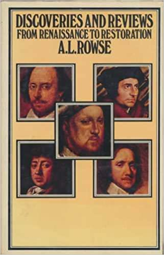 Discoveries and Reviews: from Renaissance to Restoration