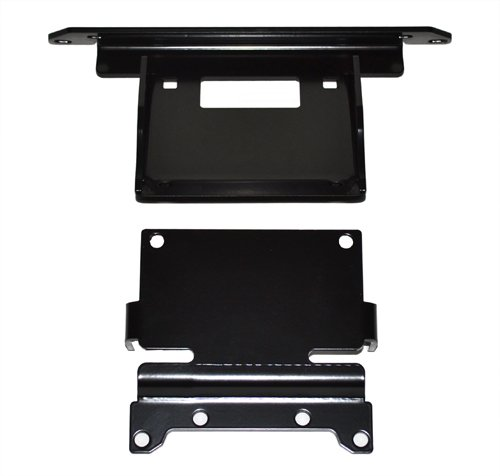 WARN Winch Mount For 1500 to 3500 Pound Winches Fixed Mount Powder Co 87180