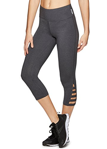 RBX Active Women's Workout Legging Charcoal Grey Span M