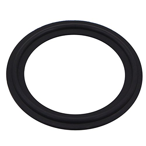 (Dernord Viton Rubber Gasket Tri-clamp O-Ring Fits Sanitary Tri-clover Type Ferrule (Tri-Clamp Size: 2 Inch))