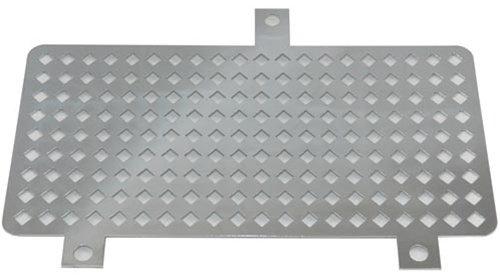 Yana Shiki CA2599 Chrome Oil Cooler Cover with Diamond Cut-outs for Suzuki GSX1300R Hayabusa