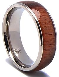 Amazoncom Titanium Rings Jewelry Clothing Shoes Jewelry