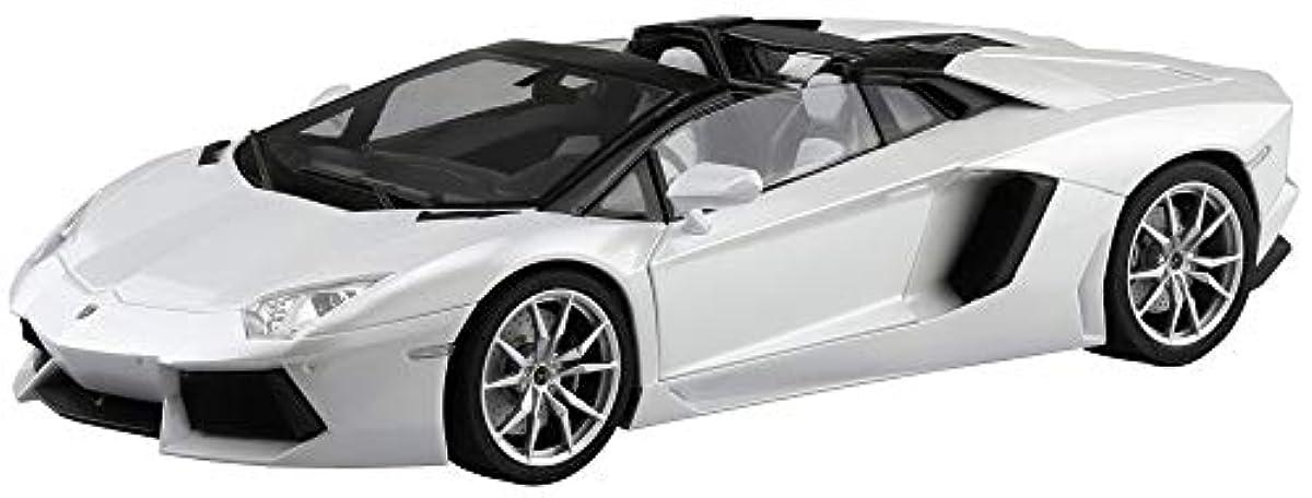 [해외] 청도(아오시마) 문화 교재사 1/24 더슈퍼 카 시리즈 NO.8 람볼기니 아벤퍼터도루 LP700-4 roadster 2012 프라모델