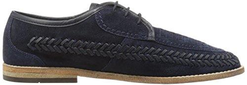 Hudson Anfa Suede - Zapatos Hombre azul (marino)