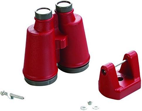 CREATIVE CEDAR DESIGNS Playset Binoculars- Red, One Size