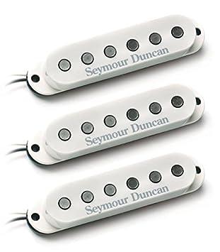 Seymour Duncan ssl-6 Custom soporte de Strat Juego de cal: Amazon.es: Instrumentos musicales