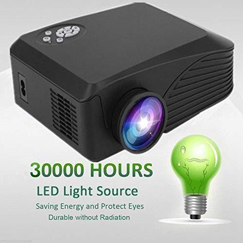 4K HD 1080P 7000 Lumens LED LCD Projector Home Theater PC AV