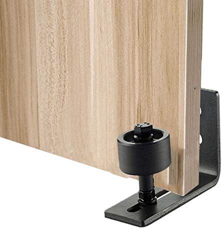 CAVIVI Guía de piso para puerta de granero, montado en la pared ...