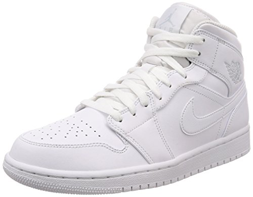 Nike Air Jordan 1 Mi Haute Ivoire Baskets (face
