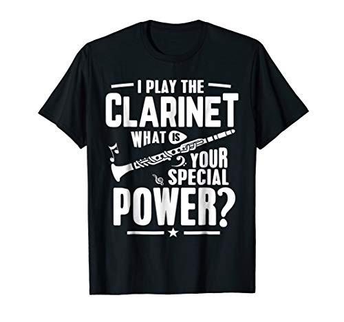 Clarinet shirt I Play Clarinet Marching Band Gifts Music Tee