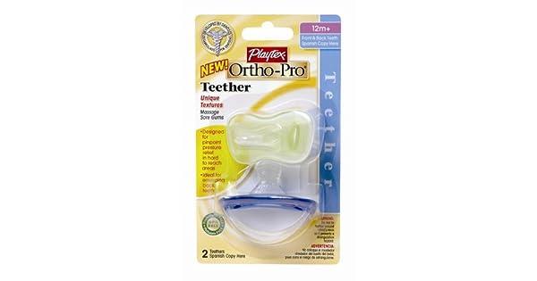 Amazon.com: Playtex Playtex bebé ortho-pro chupetes de látex ...
