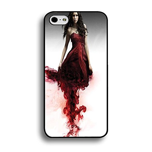 Iphone 6 Plus / 6s Plus ( 5.5 Inch ) Vampire Bloody Cover Shell Uniuqe Magic Elena Gilbert Fantasy TV Show The Vampire Diaries Phone Case Cover for Iphone 6 Plus / 6s Plus ( 5.5 Inch )