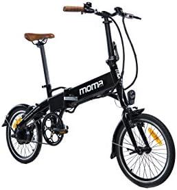 Moma Bikes Bicicleta Electrica, Plegable, Urbana E-16 TEEN ...