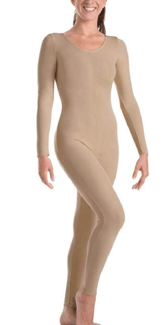 Body Wrappers Womens LNG SLV UNITRD MT217 -NUDE S by Body Wrappers
