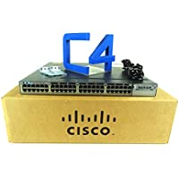 CISCO #WS-C3750X-48U-S CATALYST 3750X 48PORT UPOE IP BASE /48 Ports - Manageable - 48 x POE+ - Stack Port - 1 x Expansio