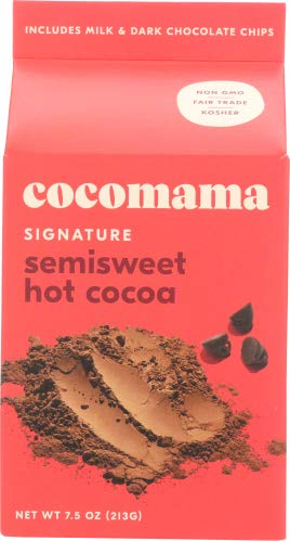 Cocomama Cocoa Mix, Semisweet 7.5 OZ (Pack of 12)