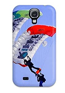 Tpu Case Cover For Galaxy S4 Strong Protect Case - Earth And Sky Design