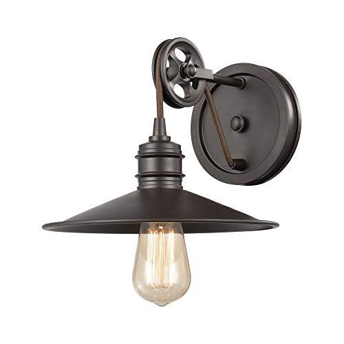 Elk Lighting 69084/1 Vanity Light, Oil Rubbed Bronze ()