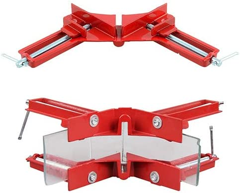 Photo Framing,T Joints Carpenter Welding Yinrunx Auto-Adjustable 90/° Corner Clamp,Multifunction Corner Clamp Tools with Pencil,for Wood-Working Engineering