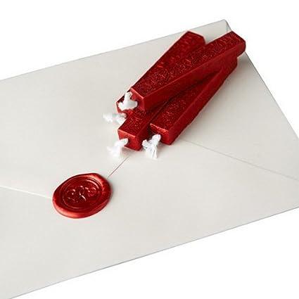 Amazon.: Burgundy Red Sealing Wax : Envelope And Stamp