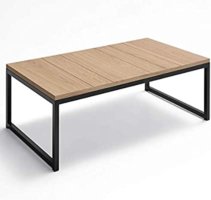 ZADISE - Mesa de Centro   moderna   Medidas 110 X 60 X 34 cm ...