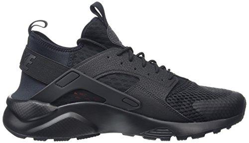 Nike Air Huarache Run Ultra Br, Zapatillas de Deporte para Hombre Negro (Black / Black)