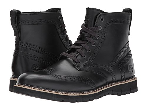Timberland Mens Britton Hill Moc-tå Vattentät Boot Svart Full Grain