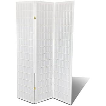 Amazoncom White Hardwood 3 Panel Shoji Screen Room DividerPrivacy