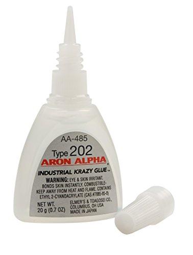 Aron Alpha Type 202 (100 cps viscosity) Regular Set Instant Adhesive 20 g (0.7 oz) Bottle