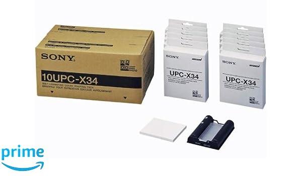 Sony 10UPC-X34 Kit para Impresora - Kit para impresoras (UPX-C300 ...