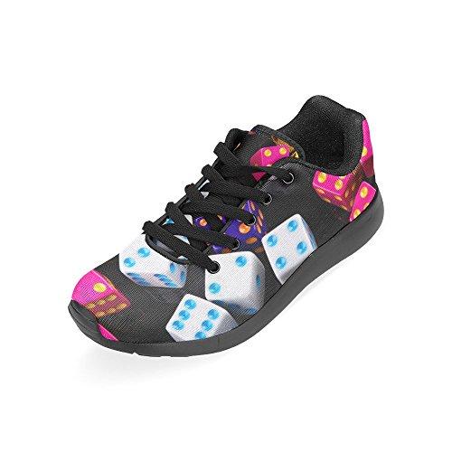 D-histoire Jogging Running Sneaker Femmes Confort Décontracté Sport Marche Chaussures De Course Multi12