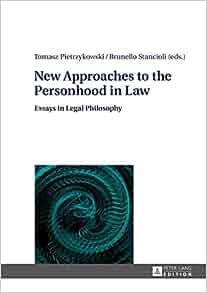 Essay in legal philosophy